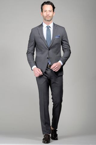 Medium Grey suit slim Angelico