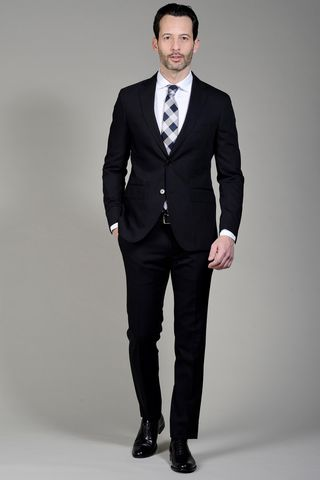 Black suit slim Angelico