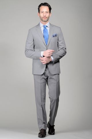 Medium grey suit Angelico