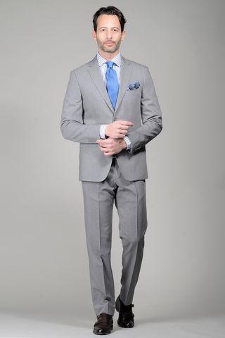 medium grey suit Angelico