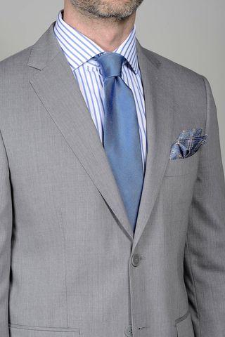 abito grigio chiaro regular Angelico