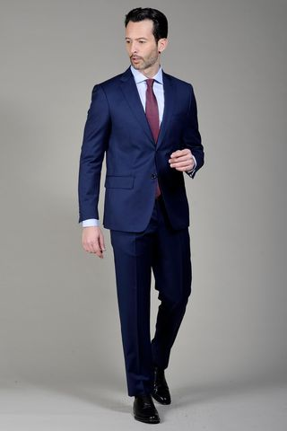 Blue suit 140s Angelico