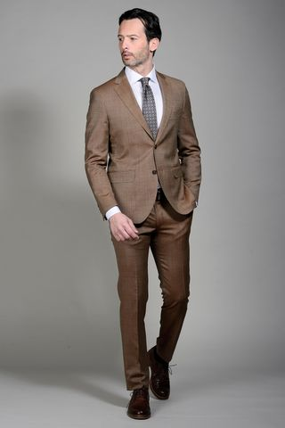 Tobac suit structured 100s slim Angelico
