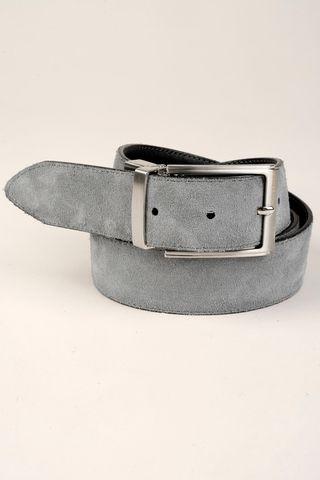 reversible black-gray belt Angelico