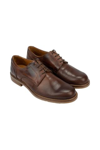 brown vintage leather shoes Angelico