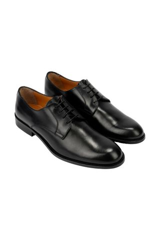 scarpa nera derby vitello Angelico