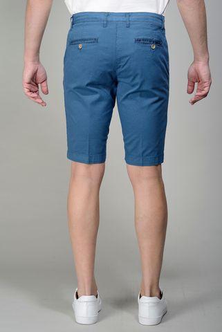 sugar blue bermudas stretch cotton Angelico