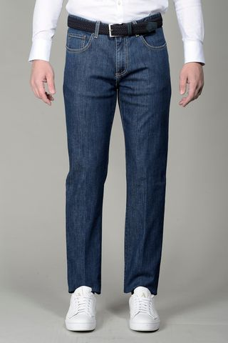 5 Pockets Blue jeans Angelico