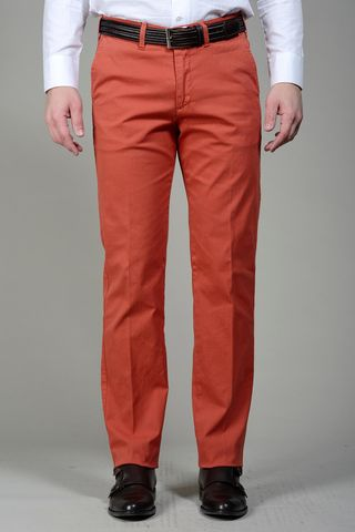 Bricky trousers cannete cotton Angelico