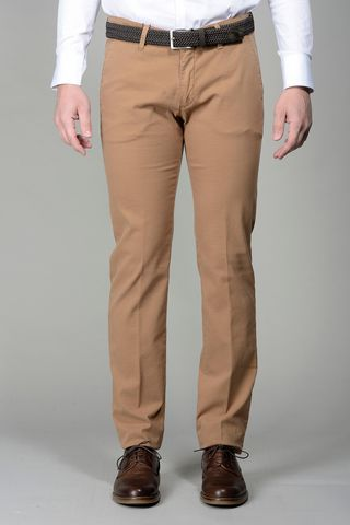 tobac trousers micropattern slim Angelico