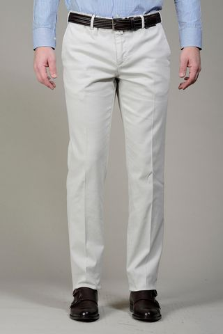 ice trousers structured cotton Angelico