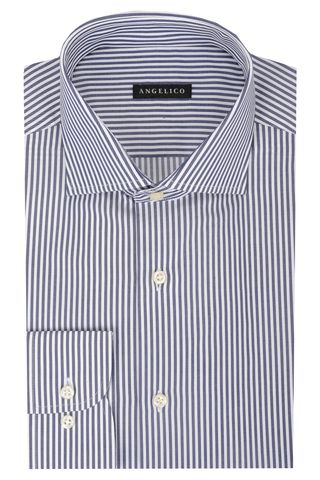 Navy striped shirt Angelico