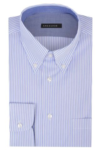 Azure shirt striped Bd Angelico