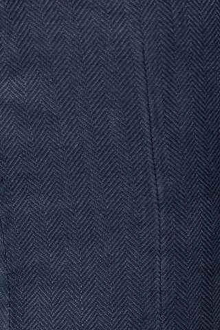 giacca blu chiaro resca cotone-lino slim Angelico