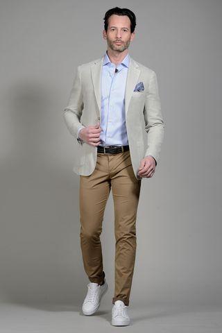 Mastic dyed jacket slim Angelico