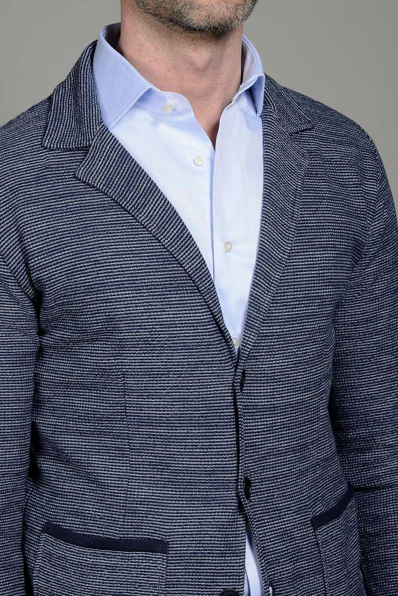 giacca in maglia uomo