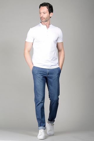 White Korean polo Angelico