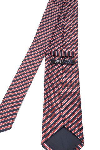 cravatta blu-rossa regimental Angelico