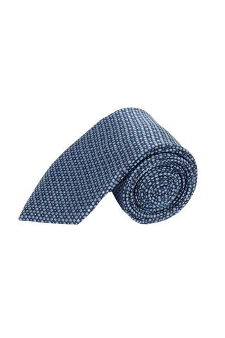 navy tie light blue circles Angelico