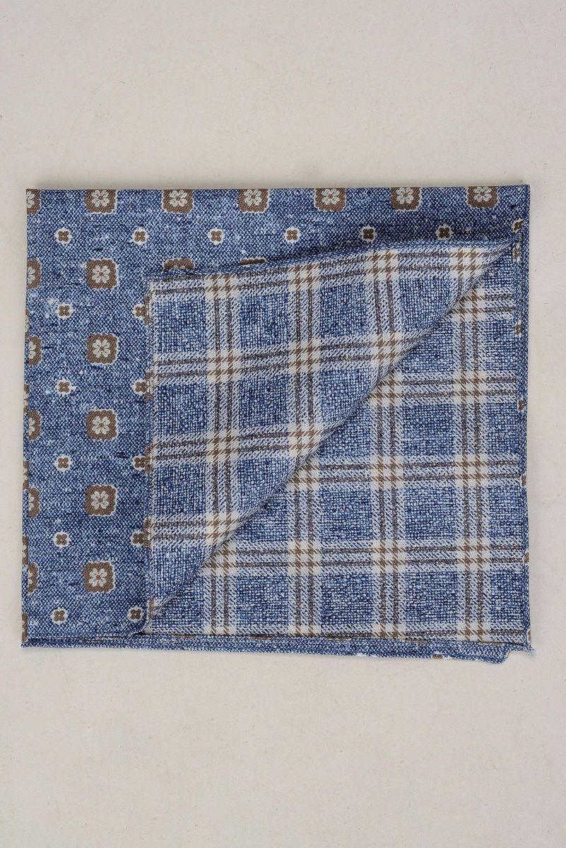materiale selezionato ufficiale data di rilascio: Angelico Pochette jeans stampa fiori-quadri, pochette da ...