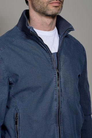 giubbotto blue jeans cotone tinto capo Angelico