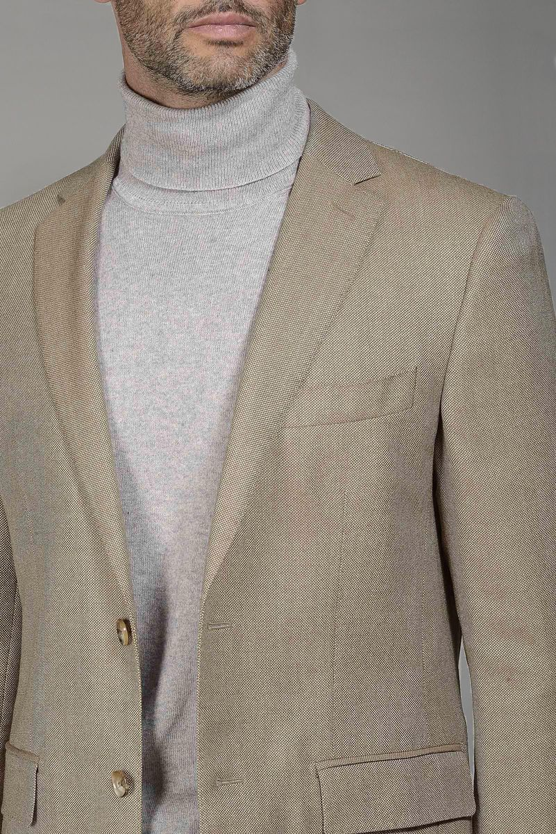 Giacca cammello lambswool 100s Angelico