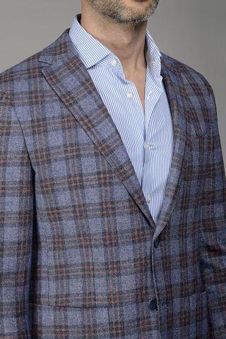giacca avio-rossa galles slim Angelico