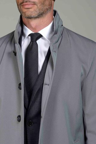 technical gray coat Angelico