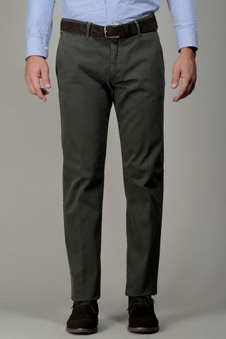 green trousers stretch tricotina Angelico