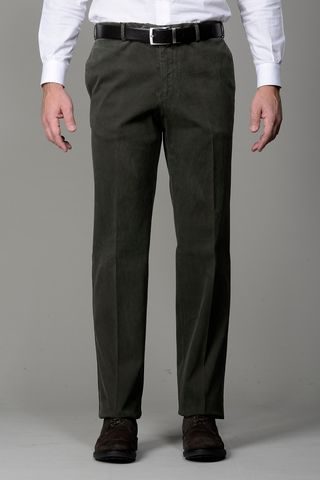 green trousers stretch cannetè comfort Angelico