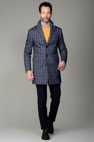 Blue coat wales checkered Angelico