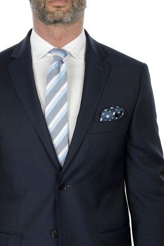 blue suit super100s Angelico