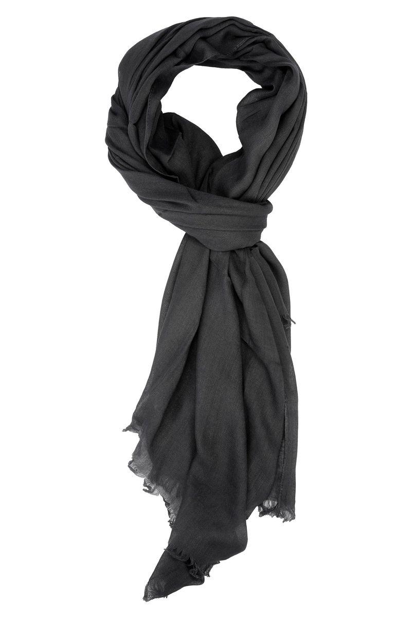 stile squisito come trovare prima qualità Angelico Sciarpa antracite viscosa, sciarpe da Uomo, in ...
