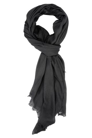 charcoal grey scarf Angelico
