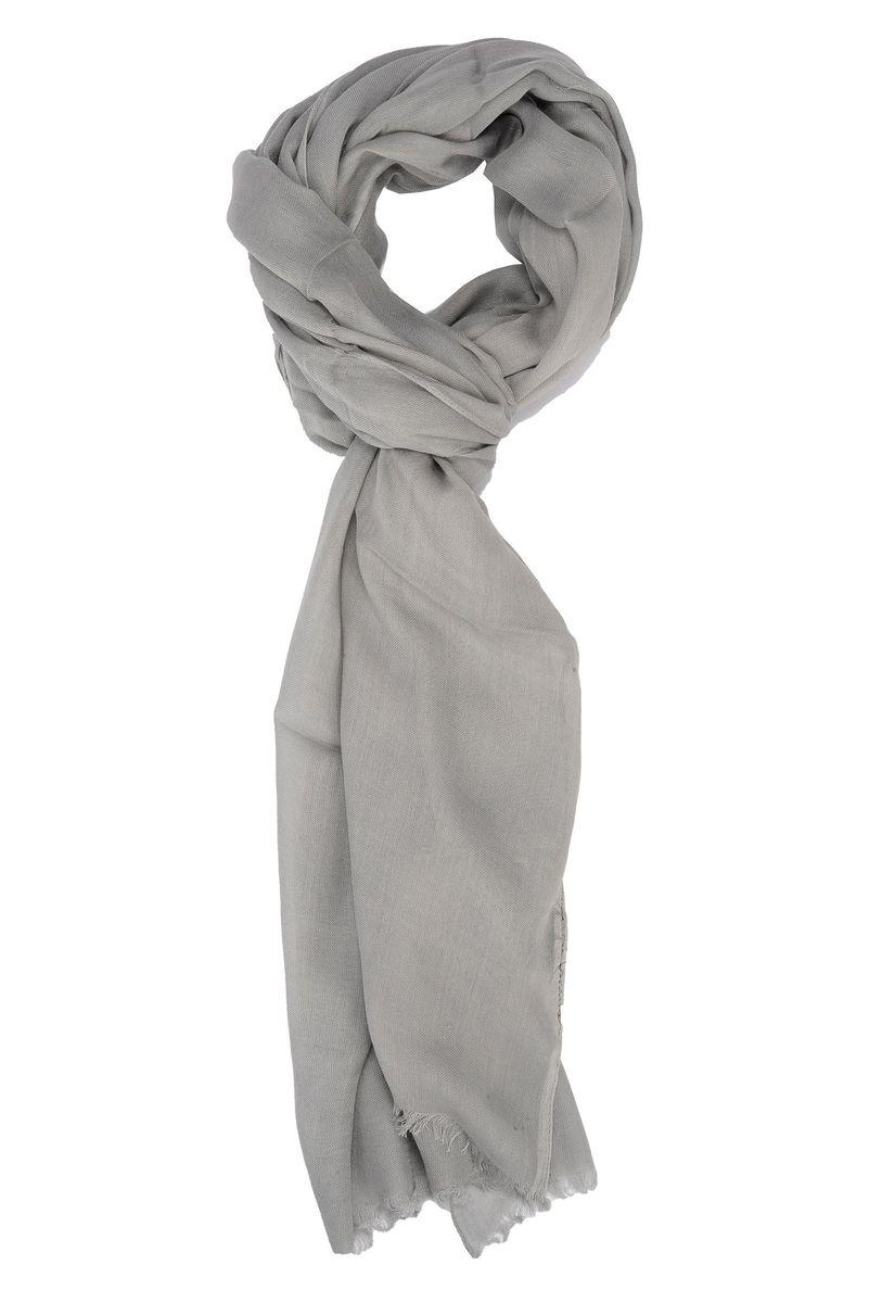 vendita calda genuina promozione speciale come ottenere Angelico Sciarpa grigio perla viscosa, sciarpe da Uomo, in ...