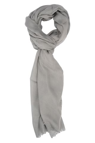 pearl grey scarf Angelico