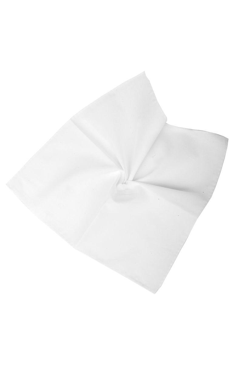 pochette bianca popeline cotone Angelico