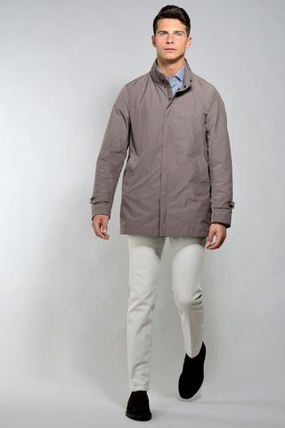 hezelnut  short raincoat Angelico