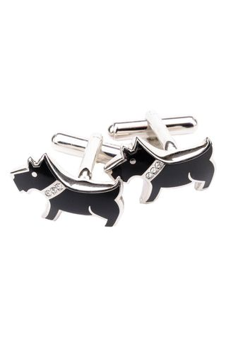cufflinks dog shaped Angelico