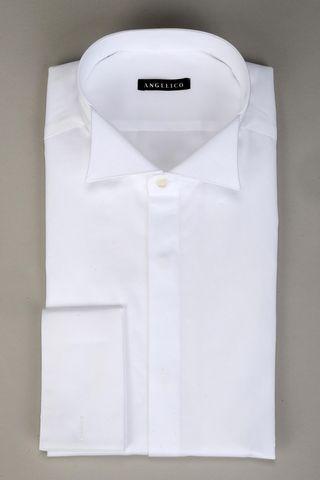 Camicia bianca collo diplomatico Angelico