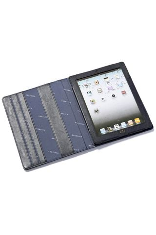 black i-pad holder Angelico
