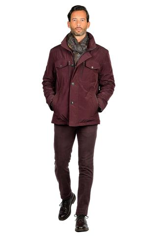 burgundy sports jacket comfort Angelico