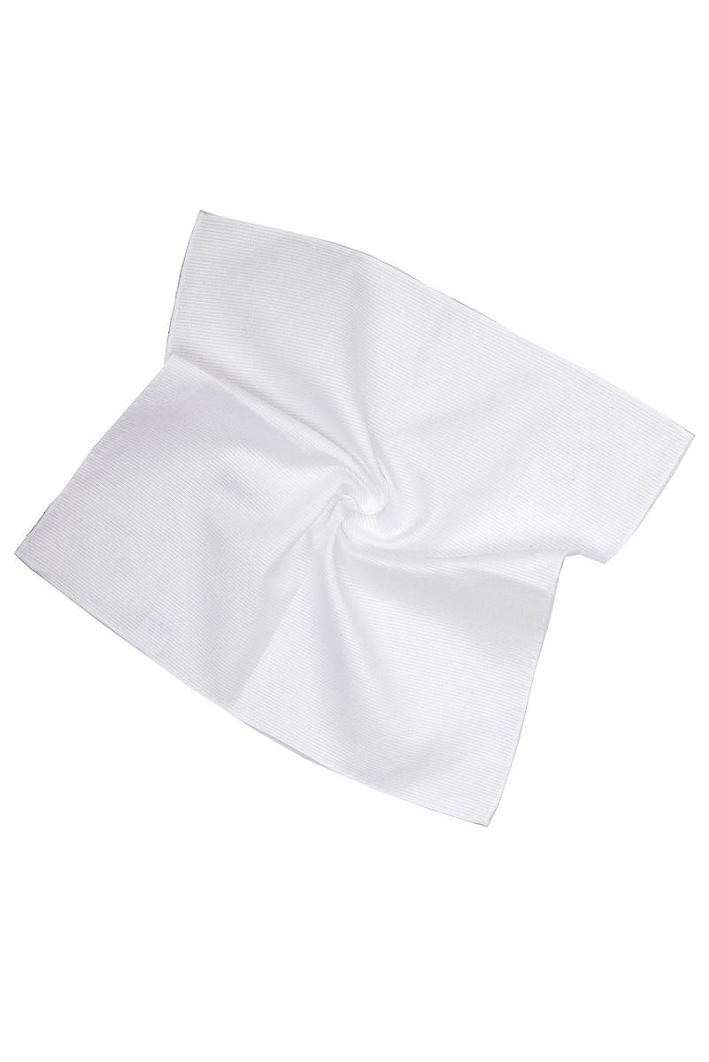 pochette bianca in cotone operato Angelico