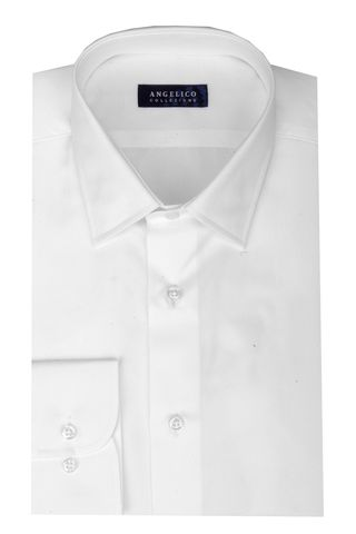 white shirt comfort fit Angelico