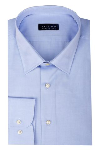 light blue shirt comfort fi Angelico