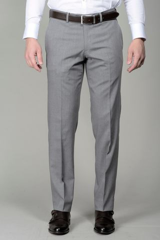 light grey trousers wool Angelico