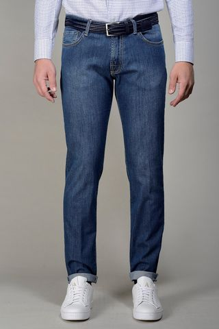 blue jeans 5 pockets slim Angelico