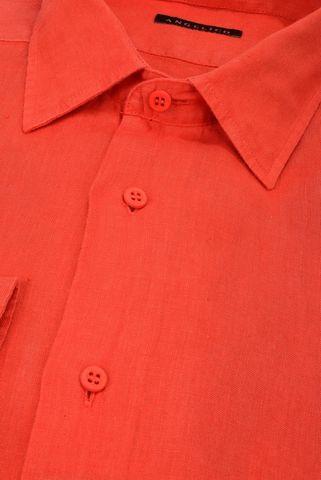 Camicia rossa lino Angelico