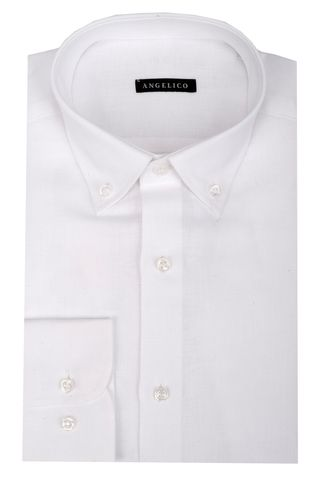 White linen shirt Bd Angelico