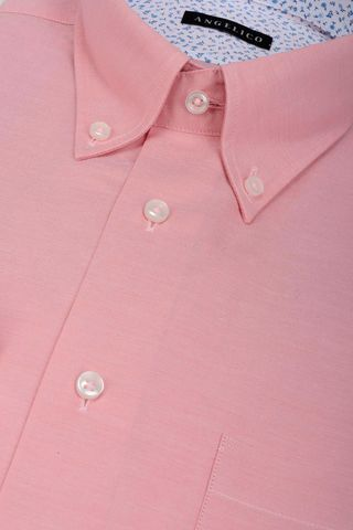 pink shirt bd and pocket Angelico